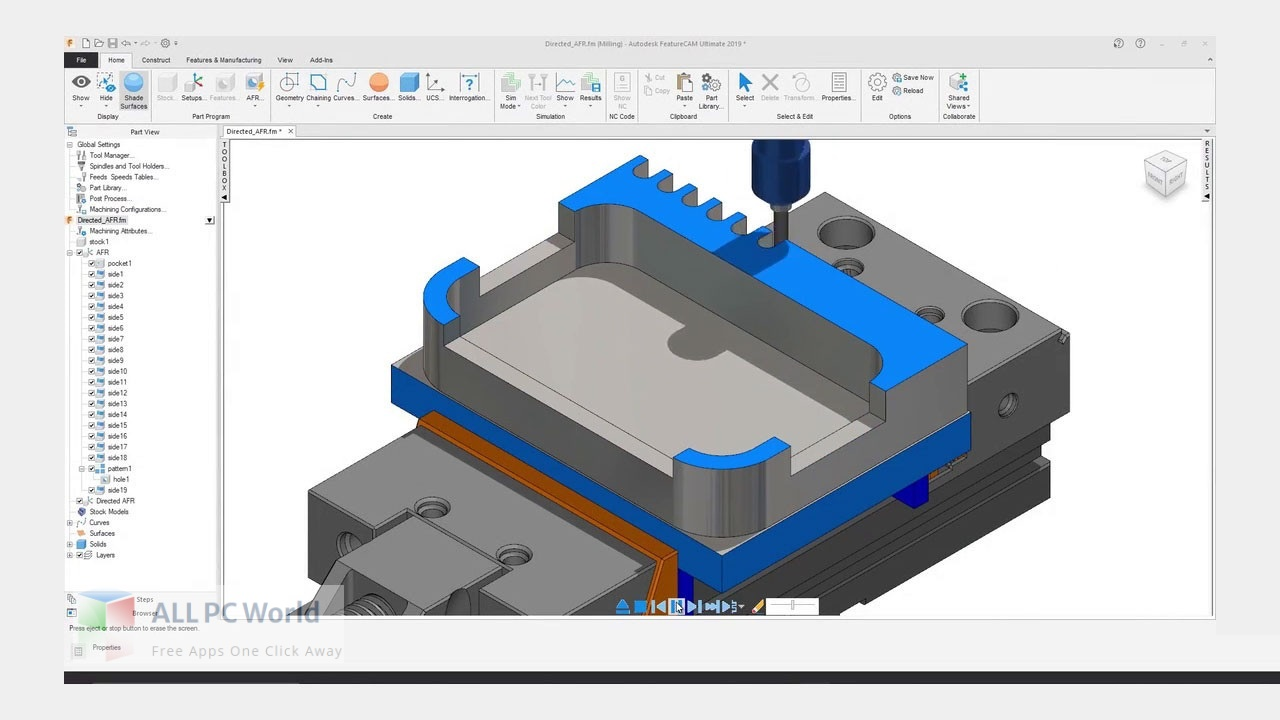 Autodesk FeatureCAM Ultimate for Free Download