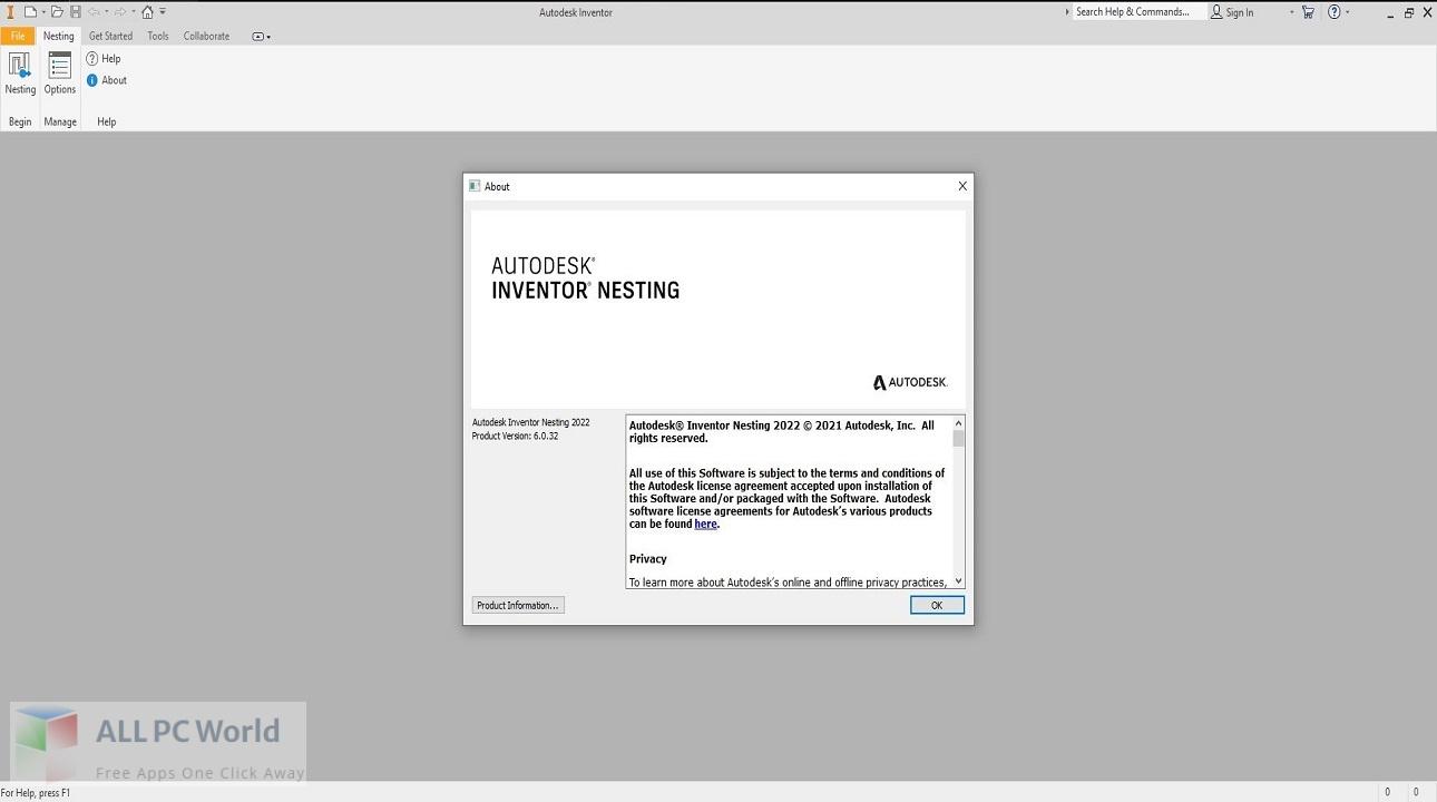 Autodesk Inventor Nesting 2022 Free Download
