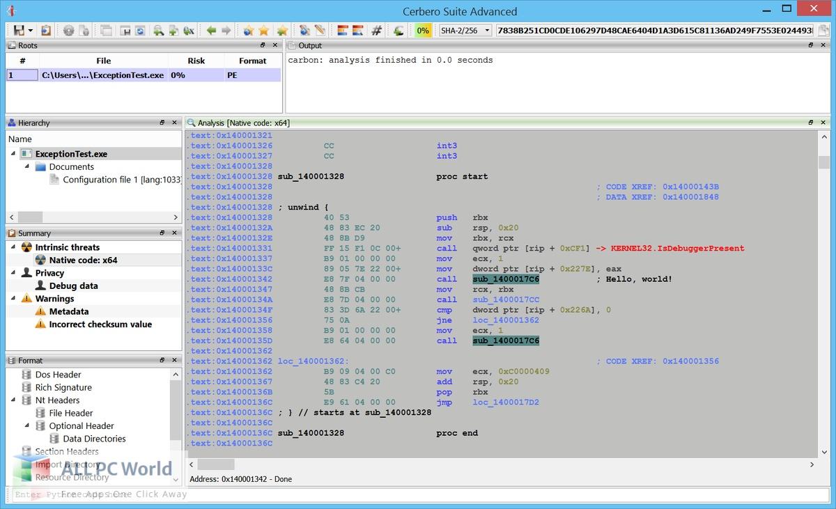 Cerbero Suite Advanced 5 Free Download