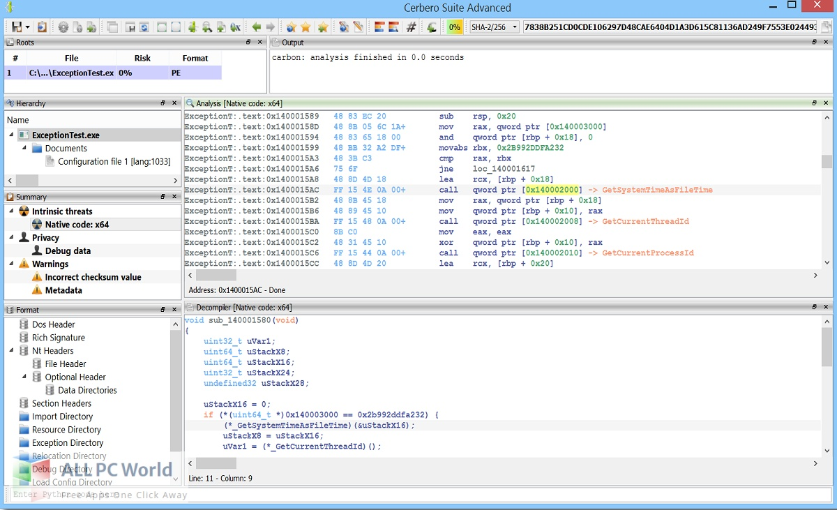 Cerbero Suite Advanced for Free Download