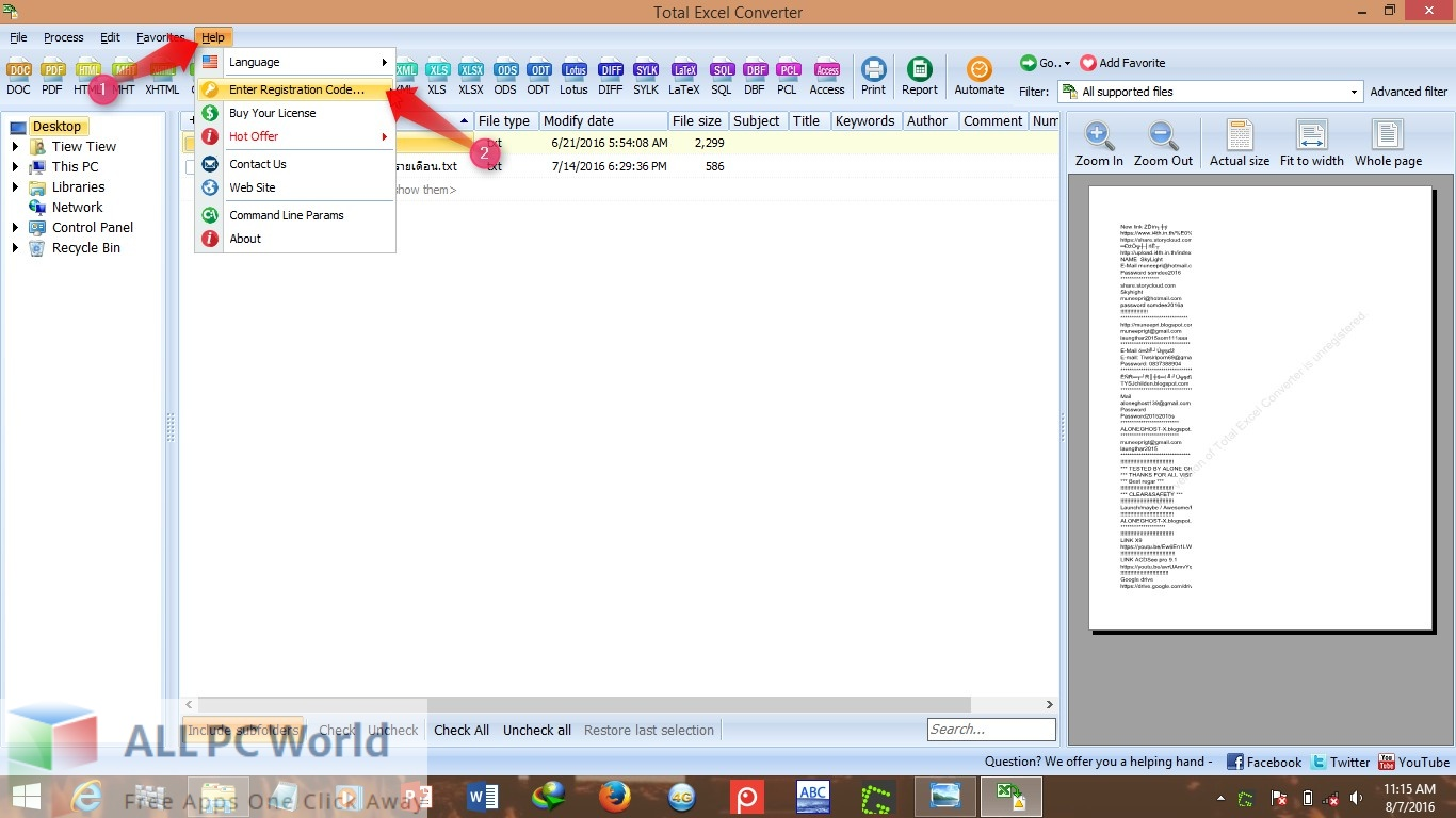 Coolutils Total Excel Converter 7 Free Download