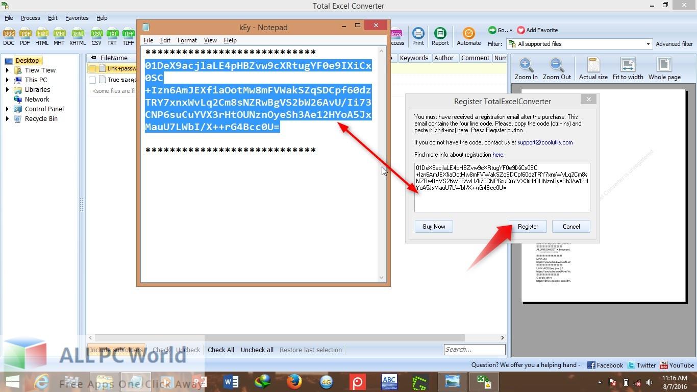 Coolutils Total Excel Converter for Free Download