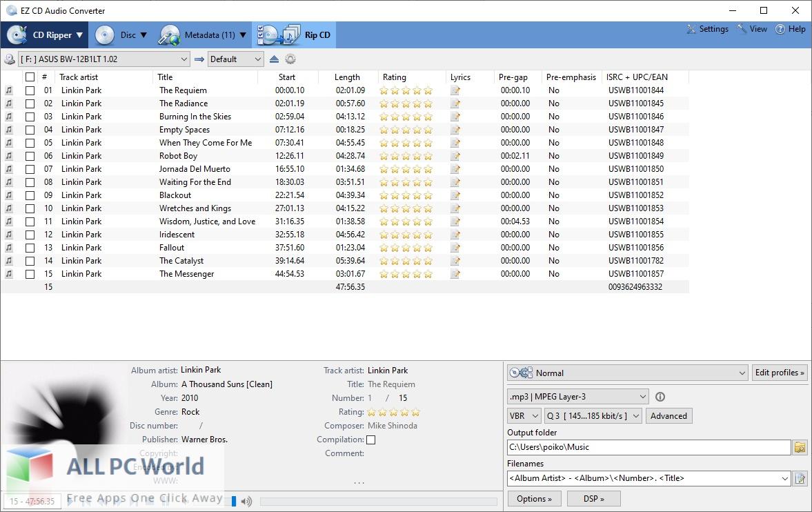 EZ CD Audio Converter Free Download