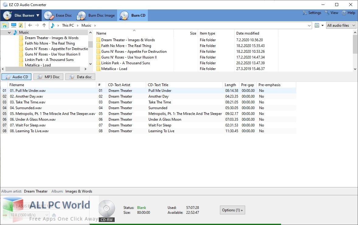 EZ CD Audio Converter for Free Download