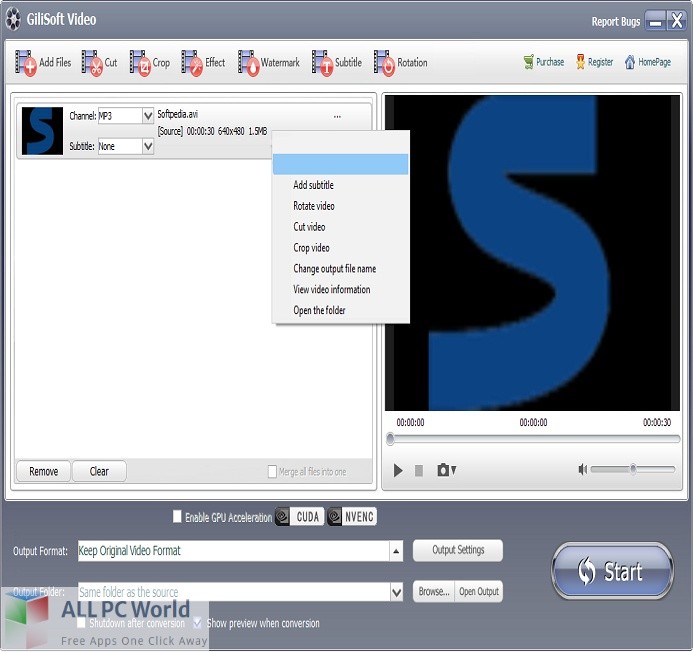 GiliSoft Video Watermark Master 8 for Free Download