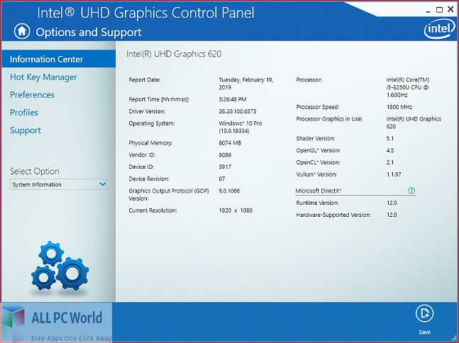 Intel Graphics Driver for Windows 10 for Free Download