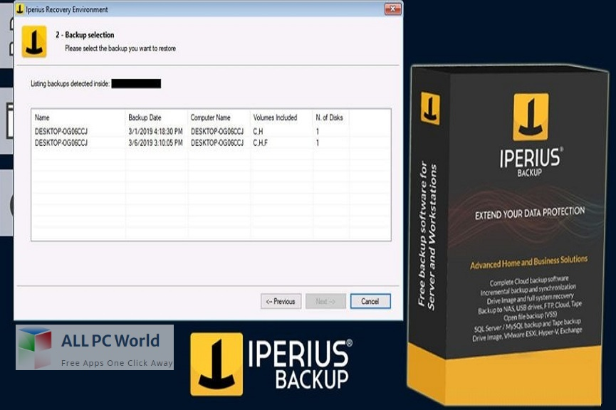Iperius Backup for Free Download