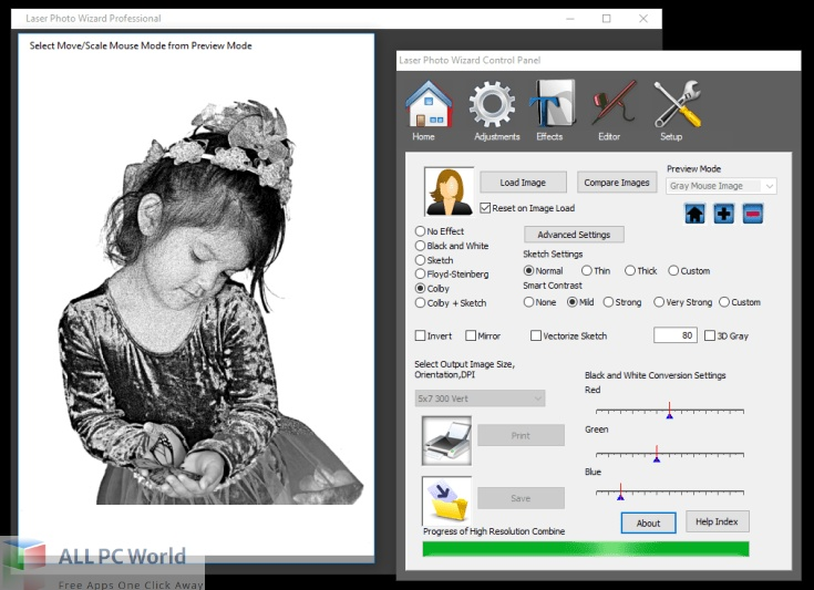 Laser Photo Wizard Professional 10 Free Download - Copy
