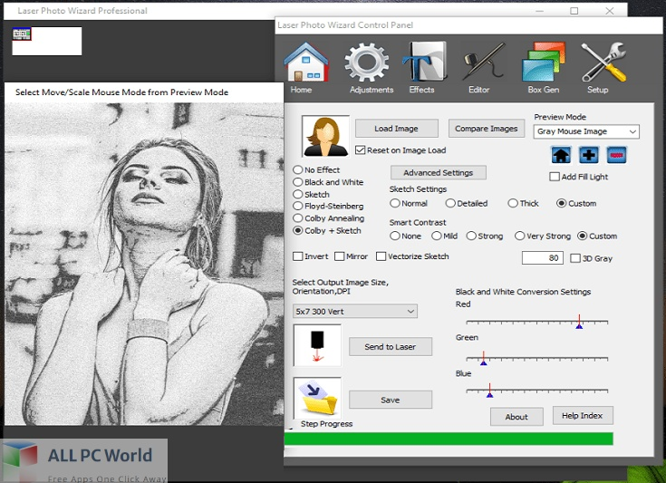 Laser Photo Wizard Professional Free Download - Copy