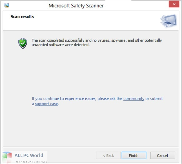 Microsoft Safety Scanner Free Download
