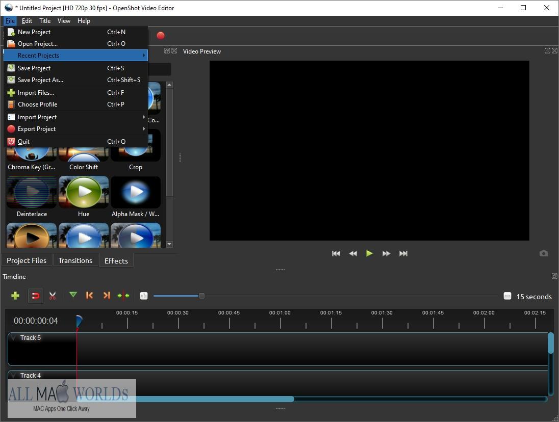 OpenShot Video Editor Free Download