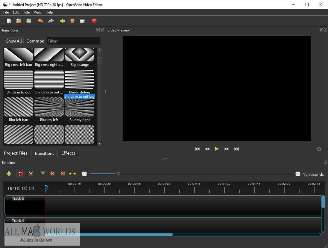 OpenShot Video Editor for Free Download