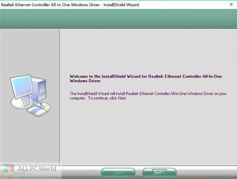 Realtek Ethernet Controller All-In-One Drivers 11 Free Download