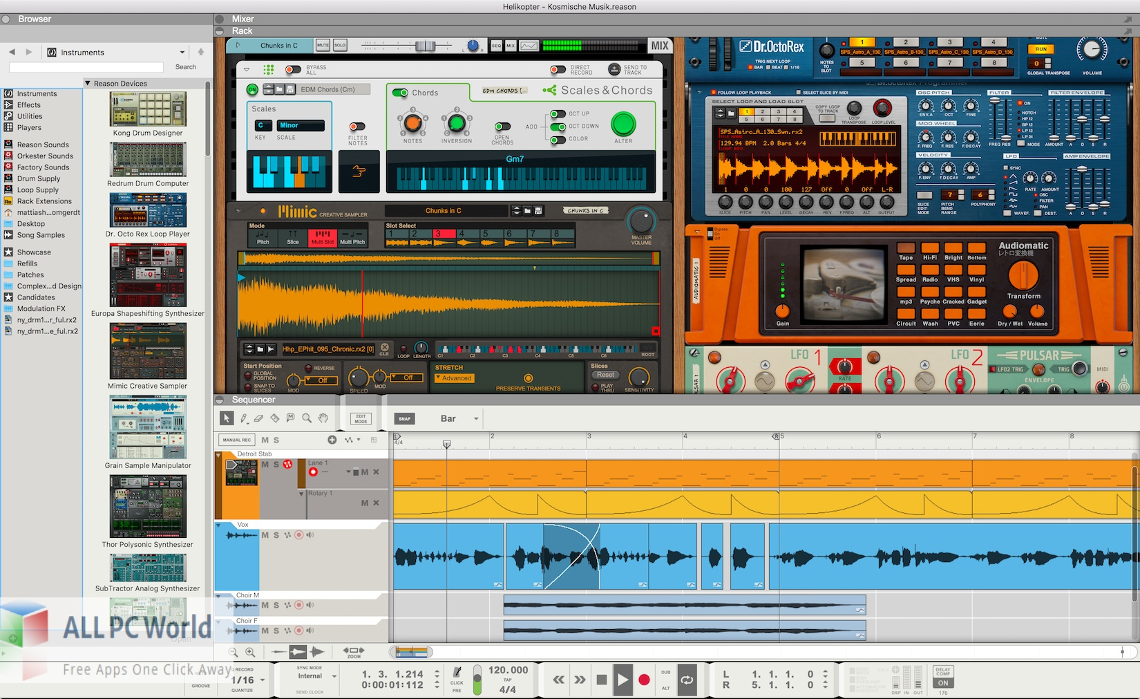 Reason Studios Reason 12 Free Download