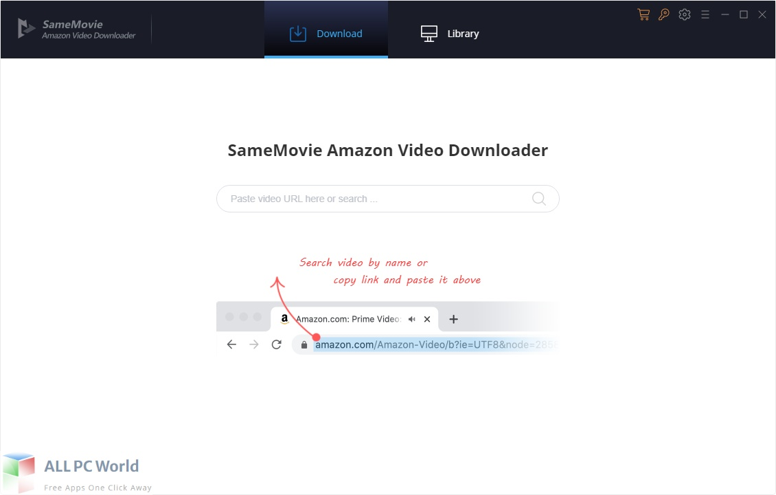 SameMovie Amazon Video Downloader Free Download