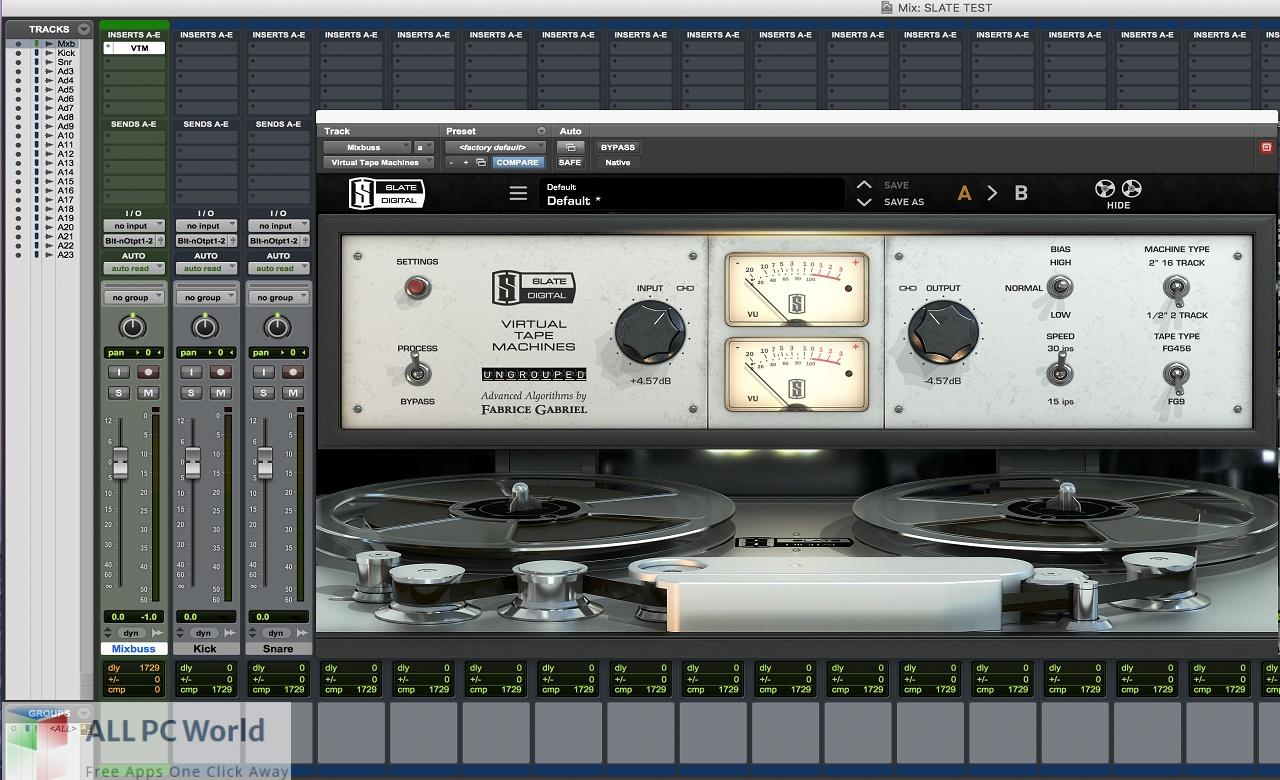 Slate Digital Virtual Tape Machines Free Download