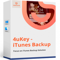 Tenorshare 4uKey iTunes Backup 5 for Free Download