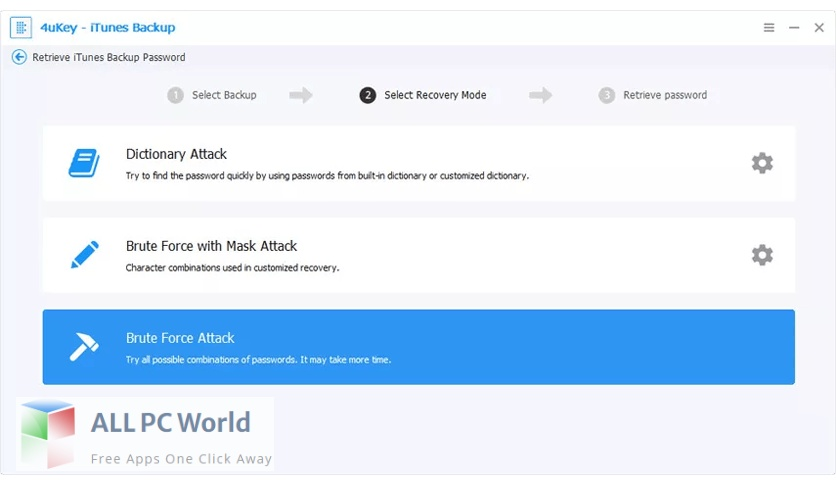 Tenorshare 4uKey iTunes Backup for Free Download