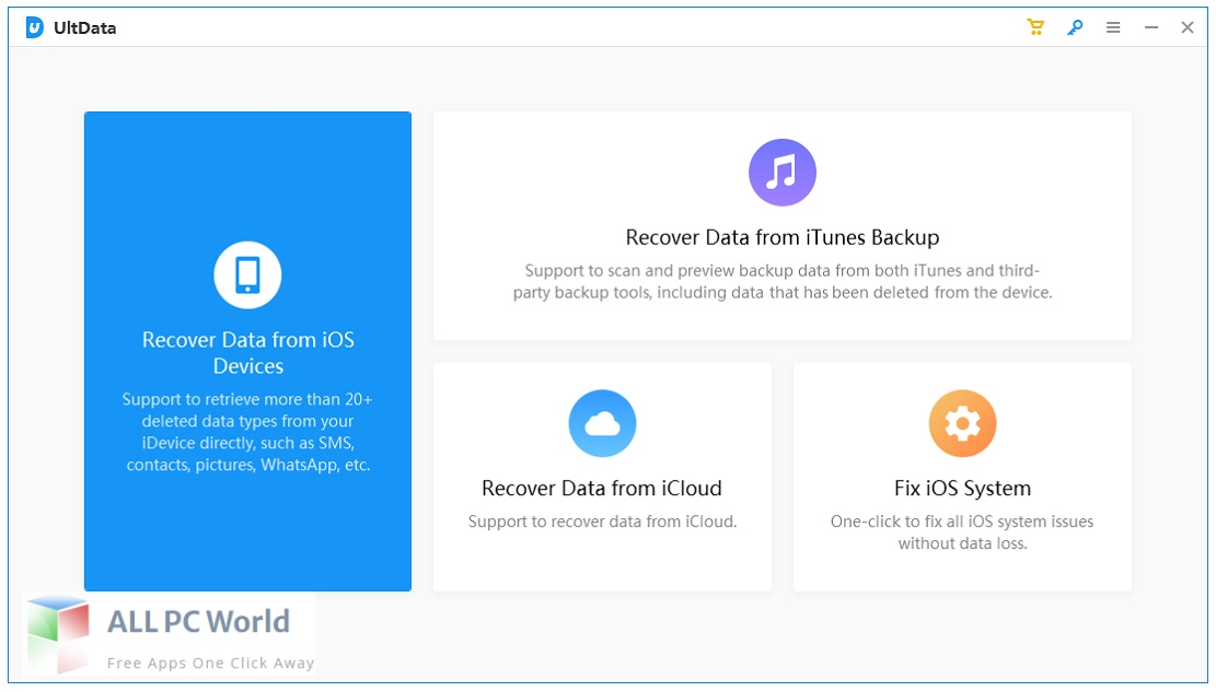 Tenorshare UltData for iOS 9 Free Download