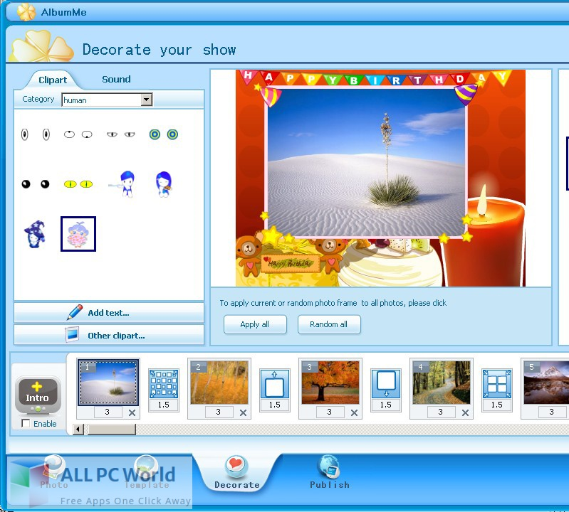 ThunderSoft AlbumMe Deluxe for Free Download