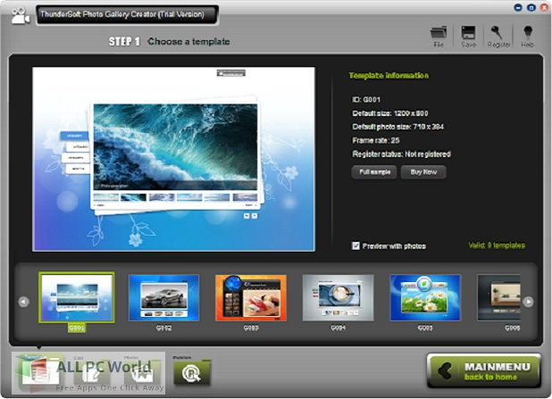 ThunderSoft Photo Gallery Creator 3 Free Download
