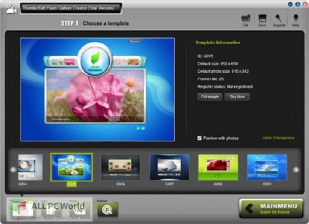ThunderSoft Photo Gallery Creator for Free Download
