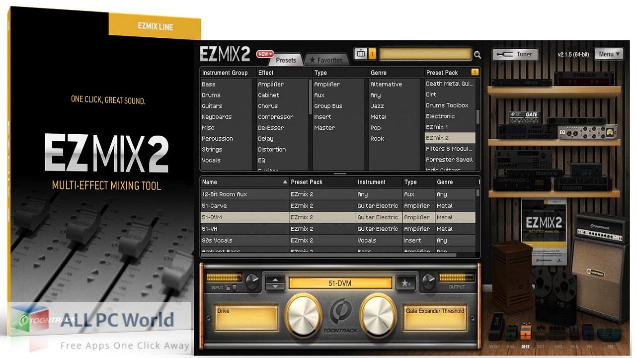 Toontrack EZMix 2 Free Download