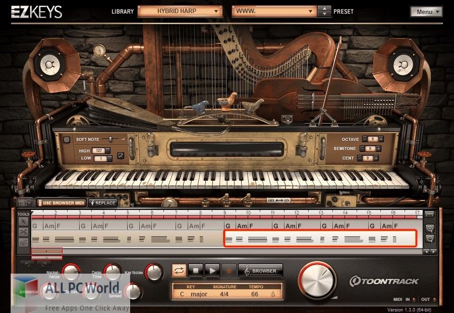Toontrack EZkeys Hybrid Harp Download Free