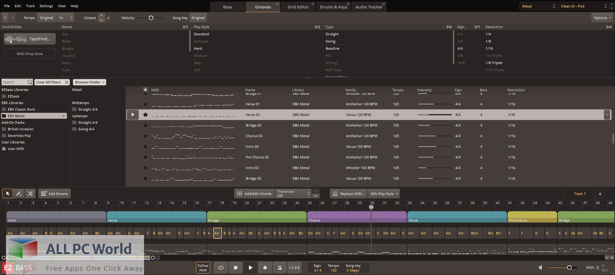 Toontrack Metal EBX for Free Download
