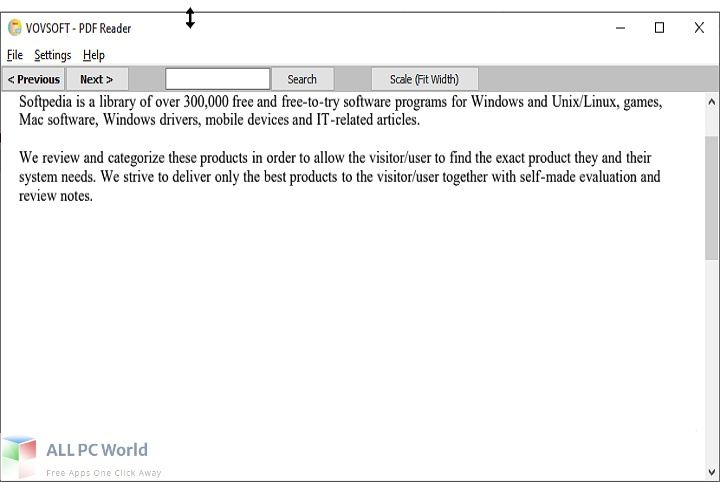 Vovsoft PDF Reader Download Free