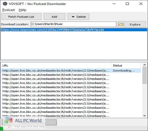 Vovsoft Podcast Downloader 2 Free Download