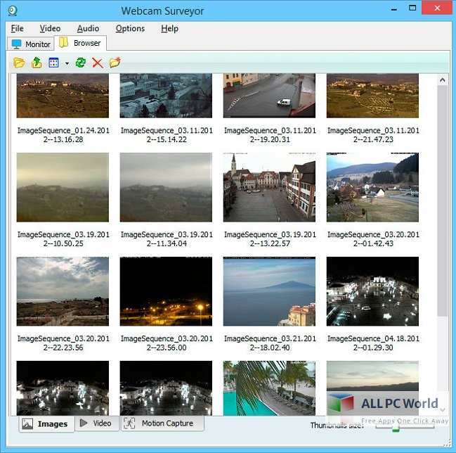 Webcam Surveyor Free Download