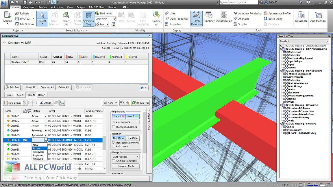 Autodesk Navisworks Manage 2022 Free Download