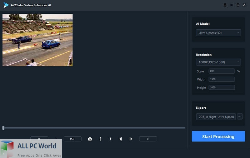 AVCLabs Video Enhancer AI for Free Download