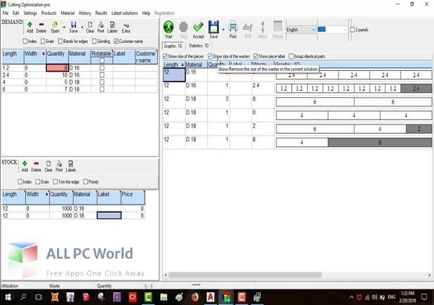 Cutting Optimization Pro Free Download