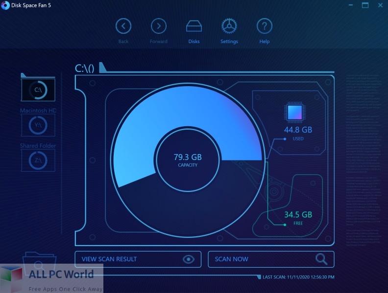 Disk Space Fan 5 Free Download