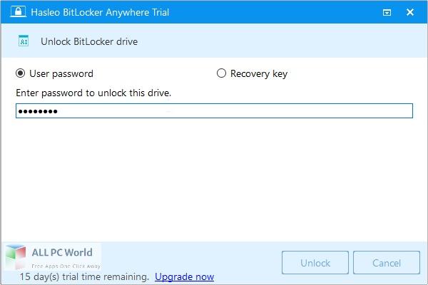 Hasleo BitLocker Anywhere Free Download