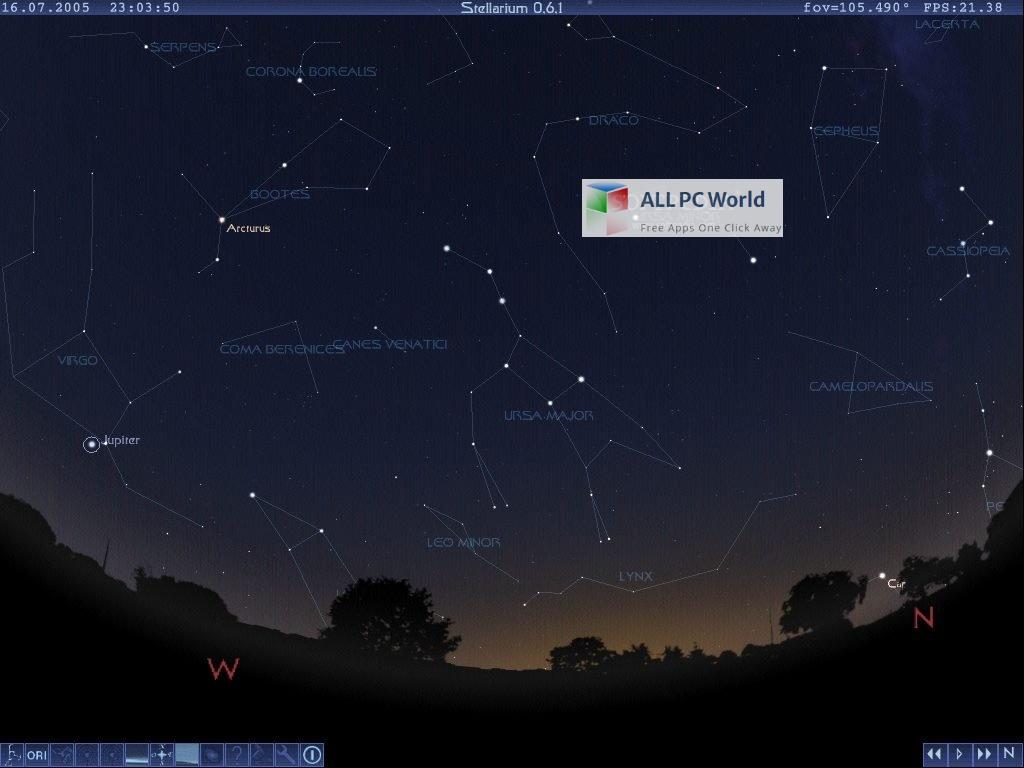 Stellarium Astronomy Software Free Download